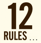 There are 12 Rules you need to follow to success