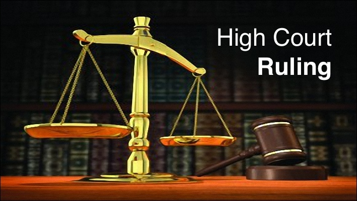 High Court Ruling
